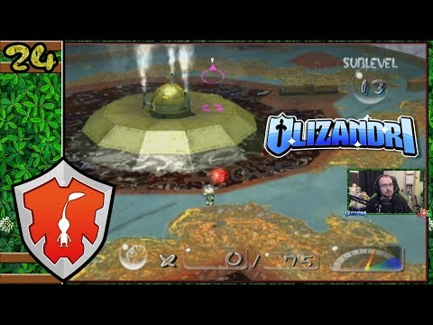 Pikmin 2 - Hole Of Heroes Dwindling Forces, Robotic Revenge! - Episode 24