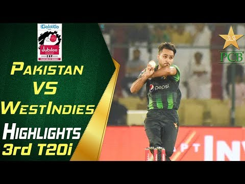 Highlights | 3rd T20i | Pakistan Vs Windies 2018 | Jubilee Insurance Cup 2018 | PCB thumbnail