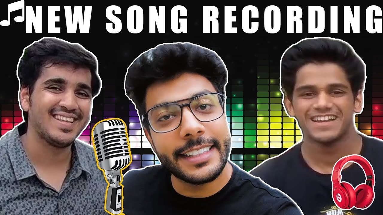 We are Recording Our NEW SONG | Deepak Shubham Piyush Vlogs | DSP Vlogs