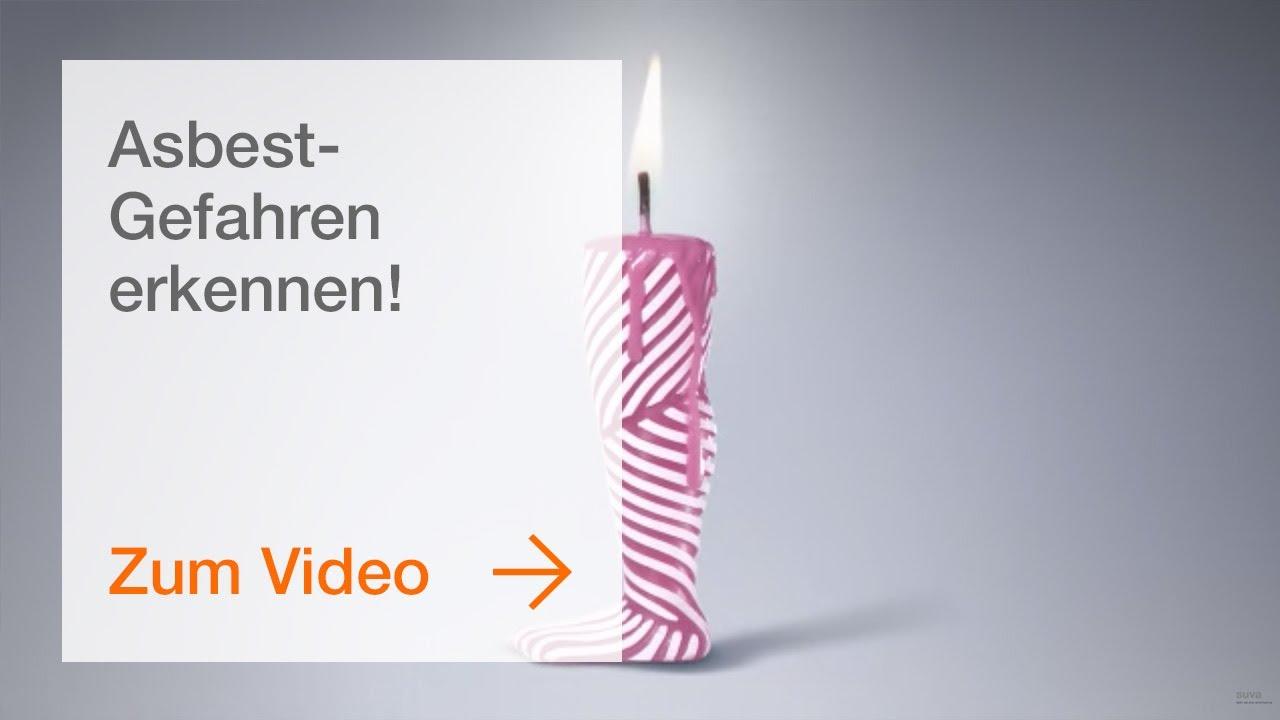 Asbest-Gefahren erkennen! Hier erfahren Sie alles dazu. - YouTube