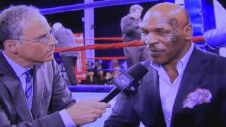 Mike Tyson interviewed by Steve Farhood on SHOBOX