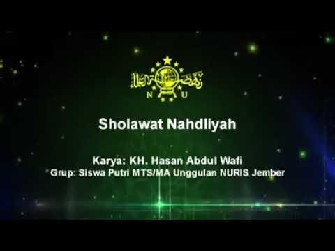 Orang Nu Ayok Hapalkan Sholawat Nahdliyah Disertai Lirik Dan Texs Karya Dari Kh Abdul Wafi