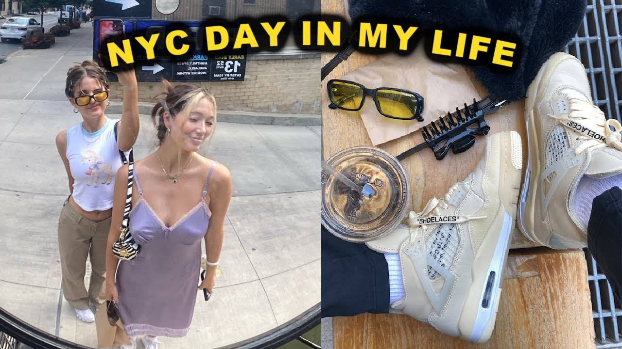 NYC DAY IN MY LIFE: Washington square park, updates, haul unboxing
