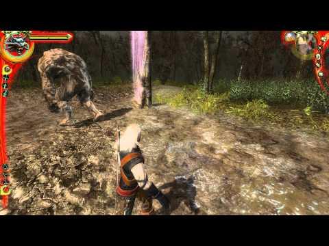 The Witcher - Как убить каменного голема
