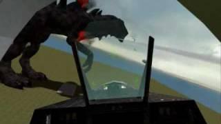 Gmod Godzilla ragdoll (zilla) WATCH