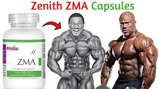 Zenith ZMA supplement benefits in Hindi | ZMA Supplement for Testosterone  Booster and Muscle Growth
