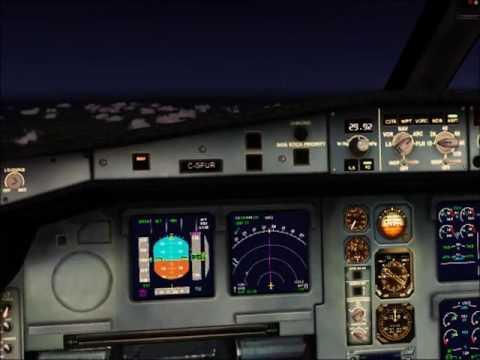 FSX #24 - Vol Zurich LSZH - Genève LSGG - A330-300 Air Canada