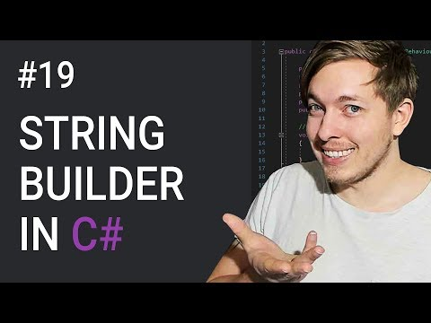 19: StringBuilder Class Methods in C# | C# Tutorial For Beginners | C Sharp Tutorial | mmtuts thumbnail