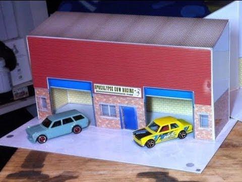 UK Hotwheels Blog Diorama – Scale Model Scenery