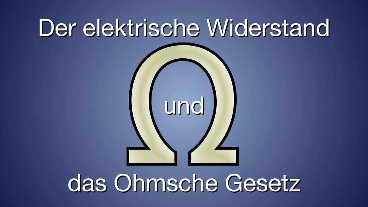 Elektrischer Widerstand und Ohmsches Gesetz - Trailer Schulfilm ...