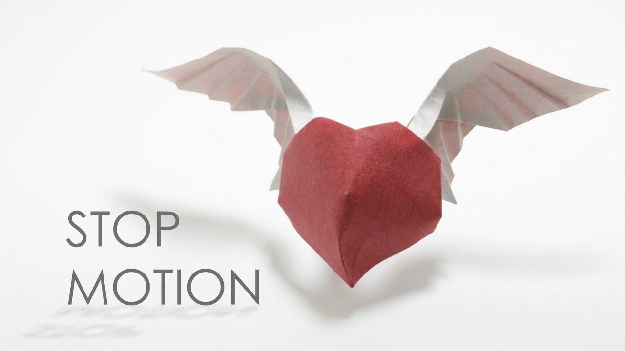 stop motion origami angel heart hoang tien quyet doovi