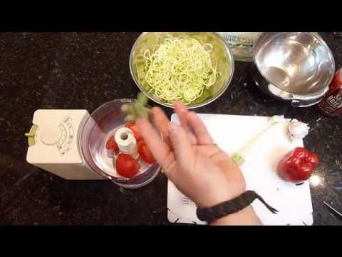 how to cook zucchini pasta youtube
