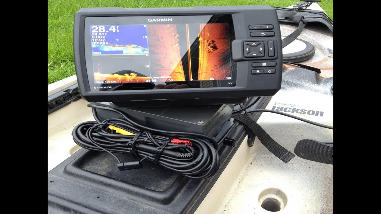 10ah kayak fish finder mount from fish finder mounts  - youtube, Fish Finder