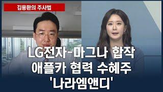 [김용환의 주사법] LG전자-마그나 합작, 애플카 협력…