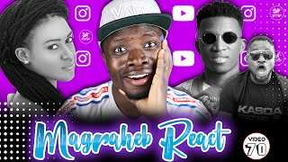 eShun ft Kofi Kinaata with Funny Face Party Video, Magraheb Reacts!