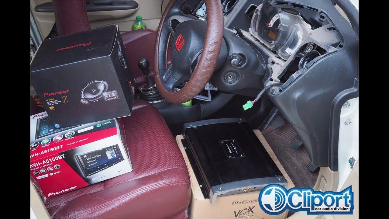 honda brio upgrade audio sound quality pioneer hi-res