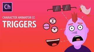 Tetikleyiciler - Adobe Karakter Animatör CC Öğretici