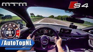 2017 Audi S4 MTM ACCELERATION & TOP SPEED 425HP AUTOBAHN POV by AutoTopNL
