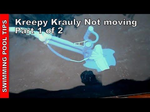 Kreepy Krauly not moving, Part 1 of 2