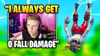 Symfuhny Shows How To NEVER Get Fall Damage | Fortnite Daily Funny Moments Ep.340