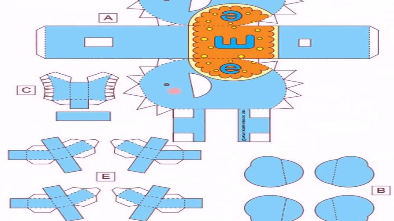Фигуры из бумаги своими руками схемы шаблоны фото 974