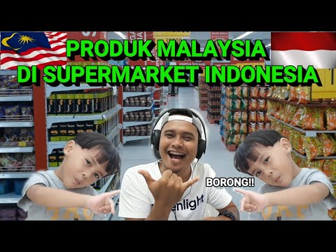 TERNYATA PRODUK MALAYSIA BANYAK DI SUPERMARKET INDONESIA