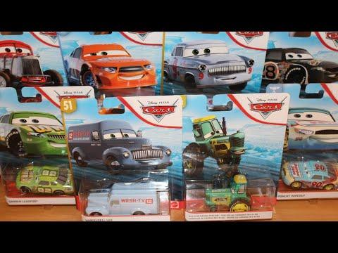 Mattel Disney Cars 3 T G Castlenut Re Volting 48 Piston Cup Racer Die Cast Youtube