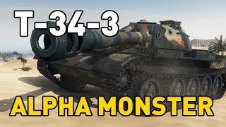 World of Tanks || T-34-3 - Alpha Monster
