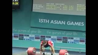 Илья Ильин толчок 226 кг в 18 лет в/к 94 кг