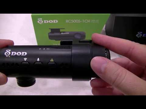 DOD RC500S 1 Channel Dashcam