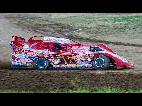 Russ King #56 | In-Car Camera | Eriez Speedway | 9-23-17