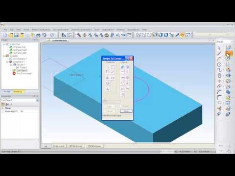 Part Modeler Video Tutorial - How to create a simple part