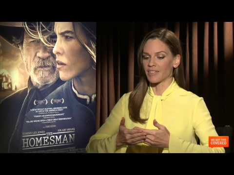 The Homesman Interview With Tommy Lee Jones and Hilary Swank [HD] streaming vf