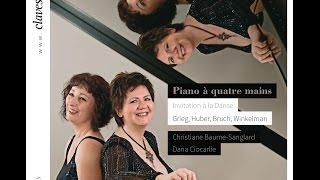 Danses norvégiennes - Edvard Grieg: IV. Allegretto molto / Piano à quatre mains