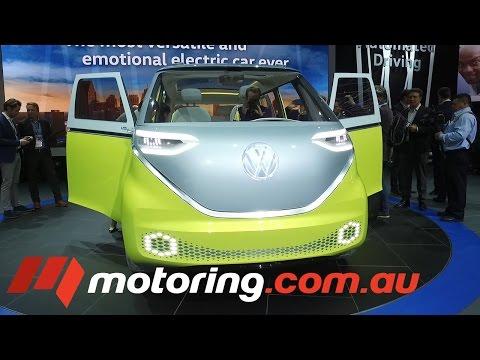 2017 DETROIT MOTOR SHOW: VW I.D. Buzz Concept