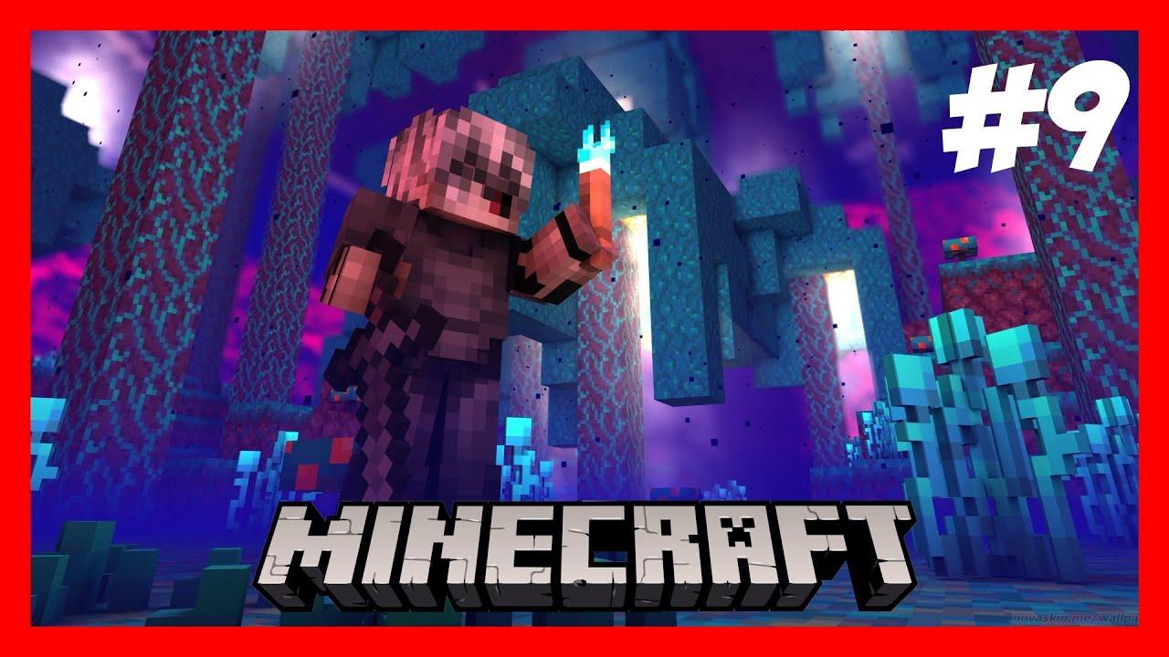MINECRAFT   Survival 4   EXPLORAMOS EL NETHER Y NO ME GUSTA   EP 9