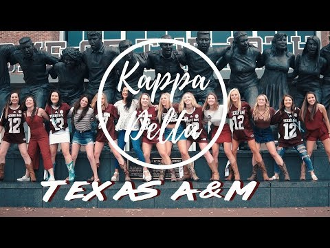TEXAS A&M KAPPA DELTA 2018 || BEST SORORITY VIDEO EVER ||