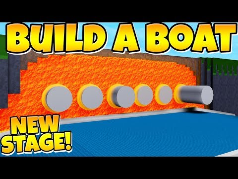 Build a Boat NEW LEVEL!!! ( Lava piston stage! ) thumbnail