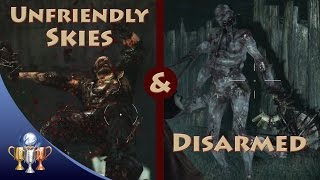 Resident Evil Revelations 2 - Unfriendly Skies & Disarmed (Shoot mid-jump and Reverent Weapon Arms)