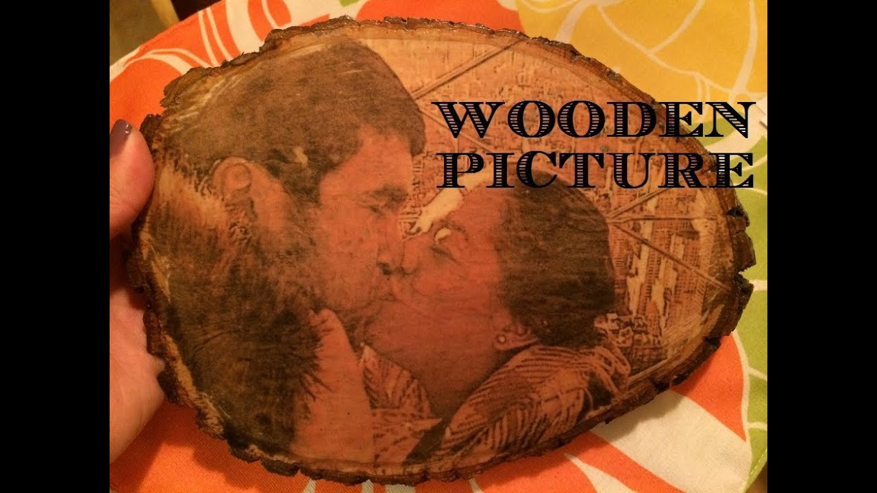 How to Transfer Photos to Wood - Mod Podge