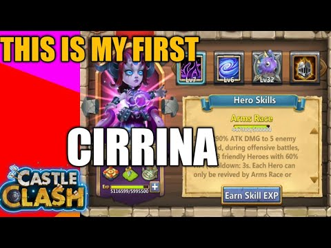 My First Cirrina | Castle Clash