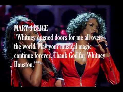 Singers & Musicians Influenced by Whitney Houston