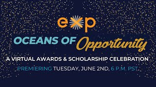 Are you ready for Oceans of Opportunity Virtual Awards & Scholarship Celebration?