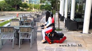 B-Free Chair- All Terrain Multi Function Stair-Climbing Power Wheelchair