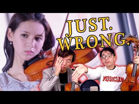 The WORST Violin Portrayal We&39;ve EVER Seen