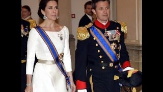 State Banquet in Denmark for Dutch Royal Couple 2015