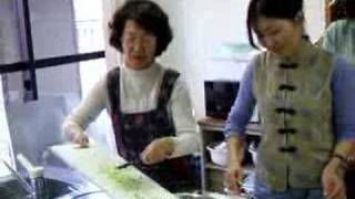 モンゴル料理教室-モンゴルの餃子を作りました。レシピというか、まあ技...