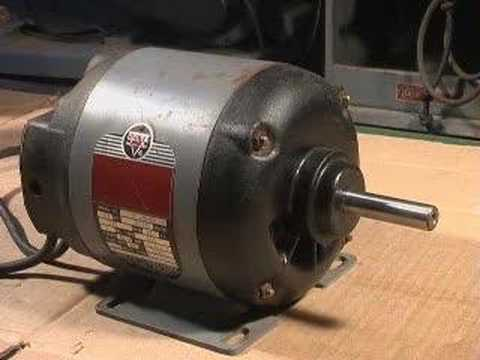 Vintage Delta Table Saw Motor Youtube