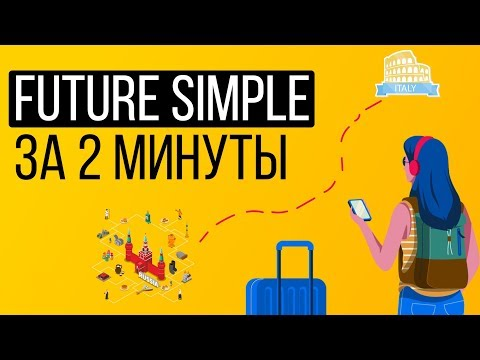 Future Simple ЗА 2 МИНУТЫ (Английские времена)