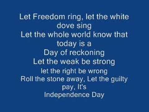 Martina Mcbride Independence Day Instrumental Version